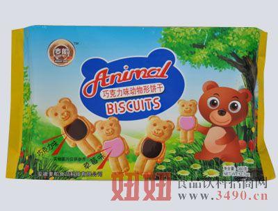 360g巧克力动物饼干