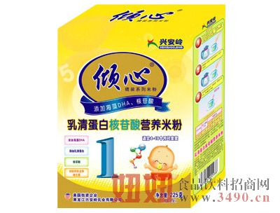 乳清蛋白核苷酸营养米粉