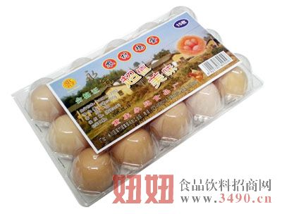永冠农家鸡蛋15枚