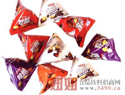 宾乐园妙逗三角包装巧克力