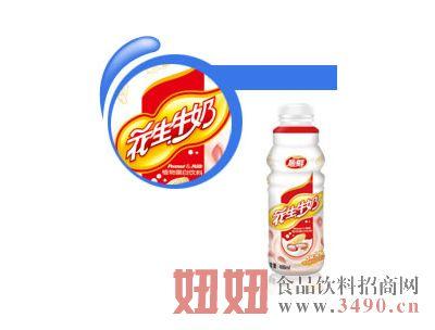 石埠花生牛奶瓶装