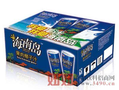 海南岛果肉椰子汁24罐装