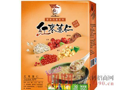 红枣薏仁350克