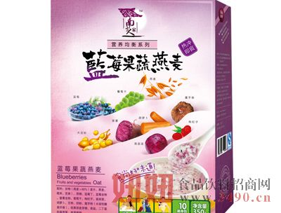 蓝莓果蔬燕麦350克