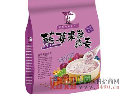 蓝莓果蔬燕麦500克