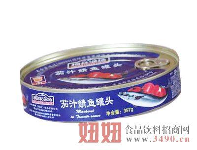 397g茄汁鲭鱼罐头