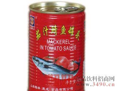 梅林茄汁鲭鱼罐头