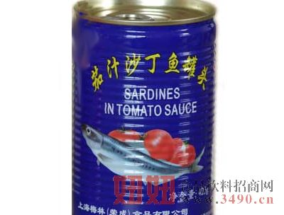 梅林茄汁沙丁鱼罐头