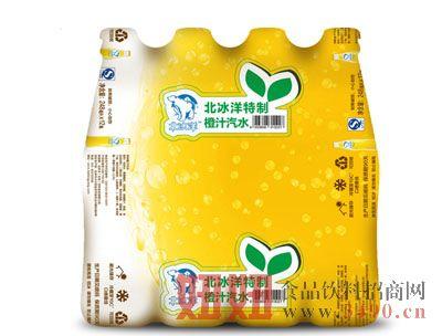 北冰洋特制橙汁汽水