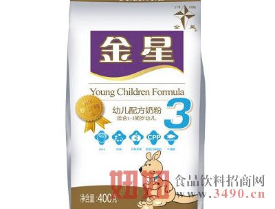 金牌幼儿配方奶粉(袋)