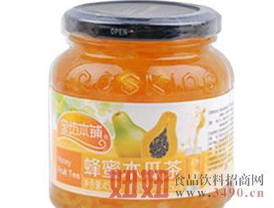 老蜂农-蜂蜜木瓜茶