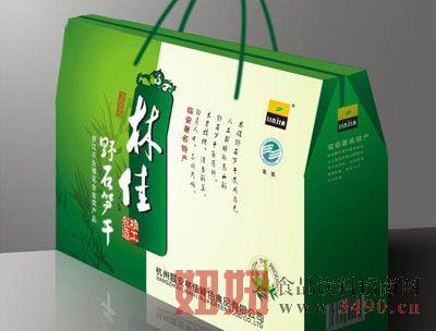 林佳野石笋干礼盒