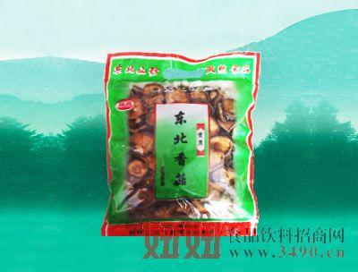 丛名特产东北香菇