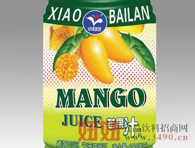 小白兰热带芒果汁240ml