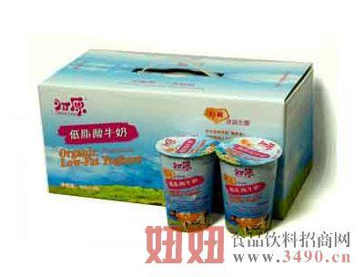 凝固型低脂酸奶