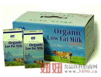 有机低脂鲜牛奶