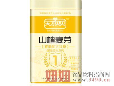 天才贝贝-山楂麦芽营养配方谷粉