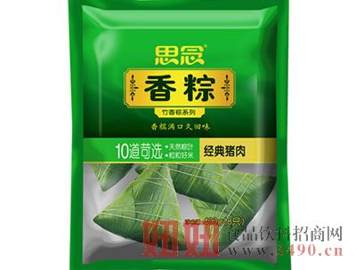 思念400g速冻竹香粽(经典猪肉)