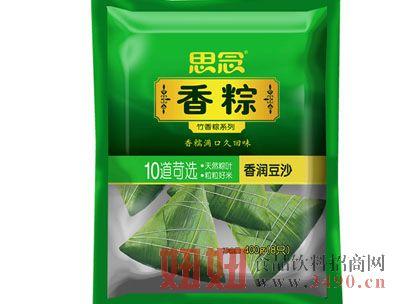 思念400g速冻竹香粽(香润豆沙)
