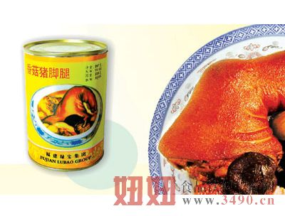 绿宝香菇猪脚罐头