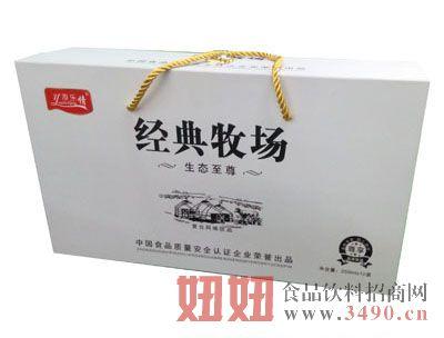 源乐情经典牧场复合风味饮品礼盒