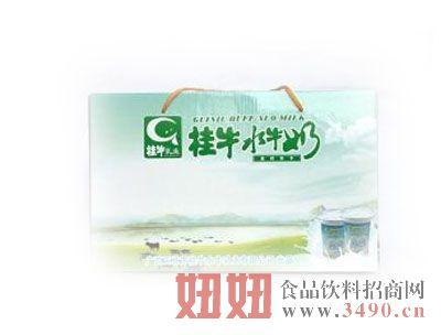 桂牛水牛纯奶礼盒