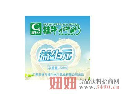 桂牛益生元水牛奶208ml