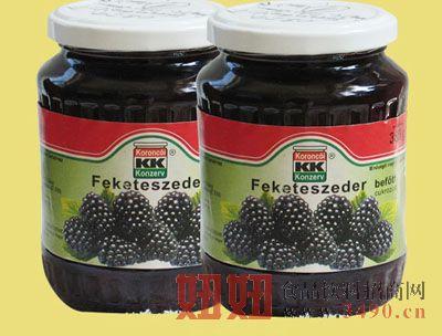 日食黑莓罐头