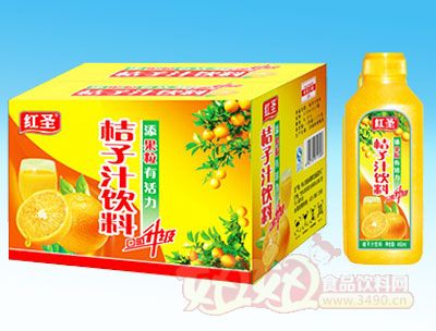 450ml红圣桔子汁饮料