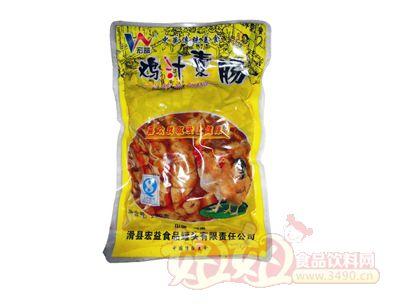 宏益鸡汁素肠260g