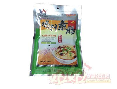 宏益鸡汁素肠-小麦蛋白素食系列