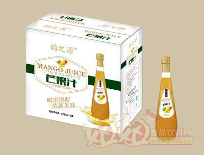 韵之源水芒果汁828mlx8瓶