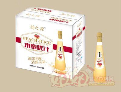 韵之源水蜜桃汁828mlx8瓶