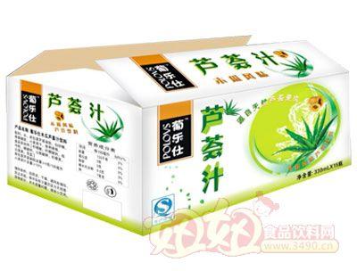 葡乐仕芦荟汁礼盒