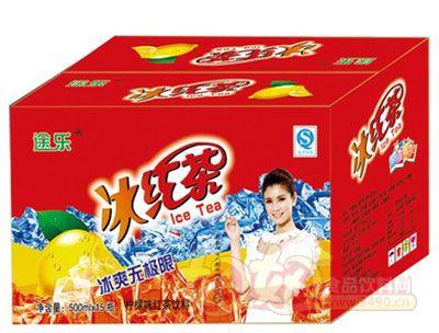 途乐冰红茶500mlx15瓶
