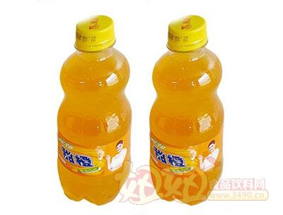 百事康甜橙瓶装
