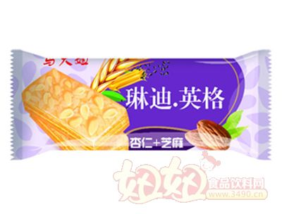马大姐琳迪英格-芝麻+杏仁饼干
