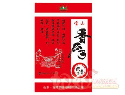 宝山瓜子奶香味150g