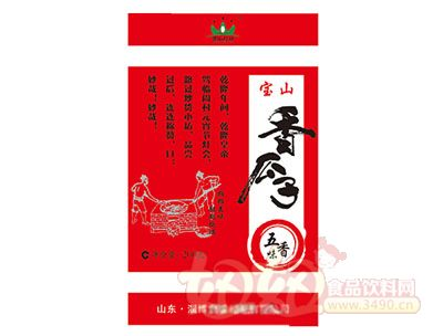 宝山瓜子五香味260g