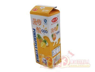 菠萝酸果奶味饮品215ml