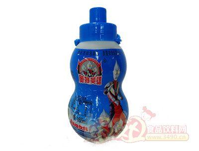 奥特英雄果奶味饮料165ml(儿童玩具)