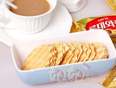 优米客奶油薄脆华夫鸡蛋煎饼干