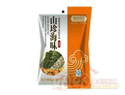 新味龙井茶海苔杏仁片