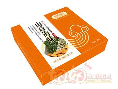 新味80g龙井茶海苔杏仁片