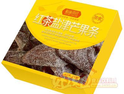 新味红茶盐津芒果条210g