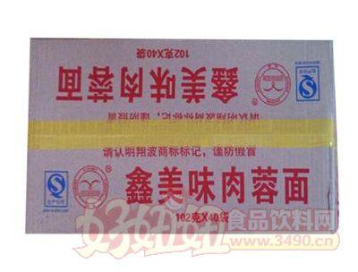 翔波鑫美味肉蓉面102G×40袋