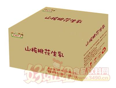 松鼠农场山核桃花生乳250ml×12盒×6提