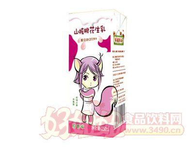 松鼠农场山核桃花生乳原香味250ml