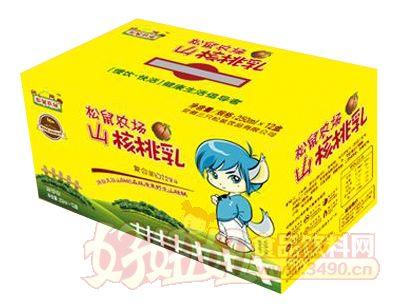 松鼠农场山核桃乳250ml×12盒