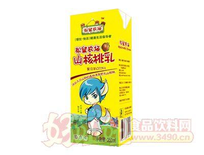 松鼠农场山核桃乳原香味250ml